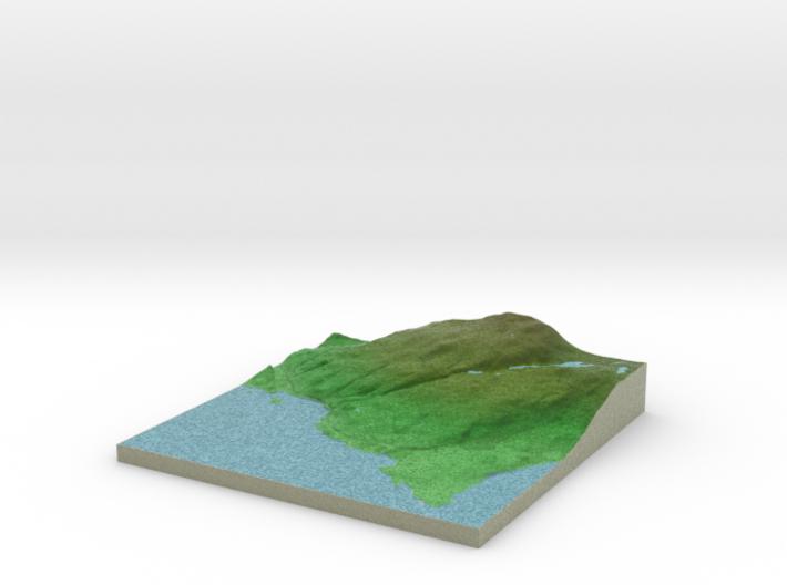Terrafab generated model Mon Sep 30 2013 01:26:47 3d printed