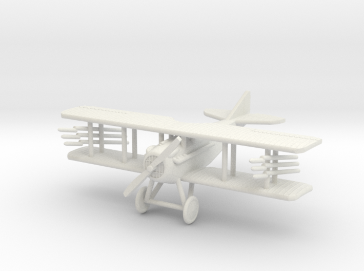 "SPAD VII ""Rockets"" 1:144th Scale 3d printed"