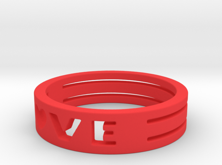 LOVE Ring Size 5.5 3d printed
