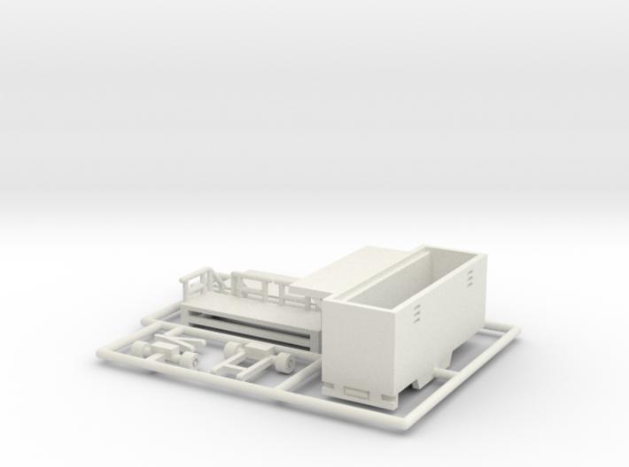 Toilettenwagen - 1:160 (n scale) 3d printed