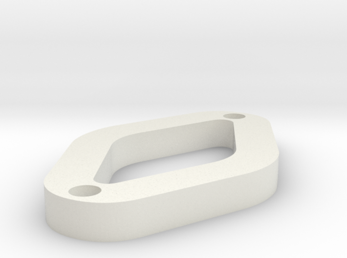 O OCR A EXTENDED 3d printed