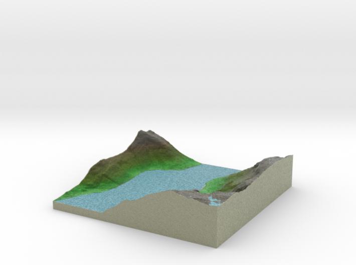 Terrafab generated model Wed Oct 09 2013 16:03:27 3d printed