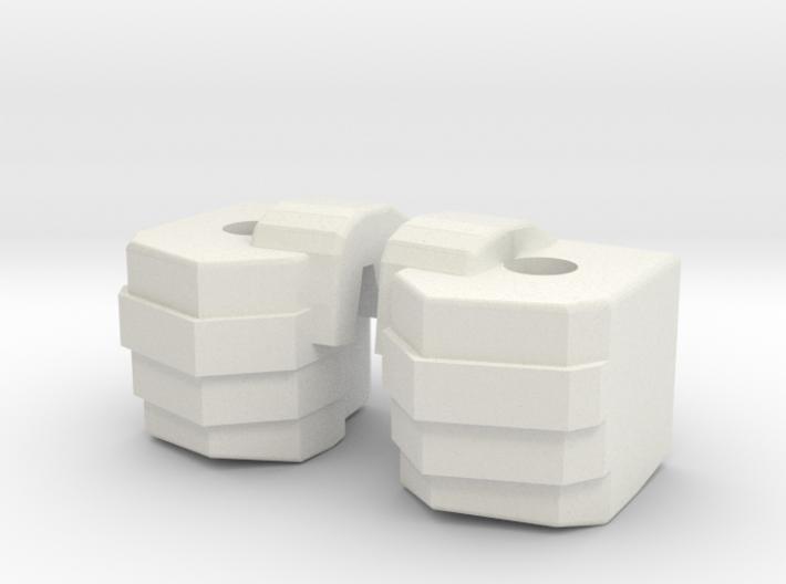 Simpfied Combinder fists for Kabaya set 7 3d printed