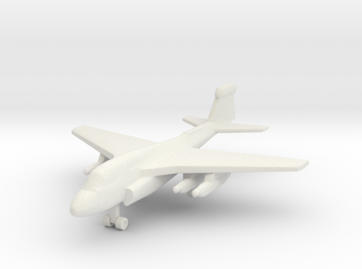 1/285 (6mm) EA-6 Prowler 3d printed