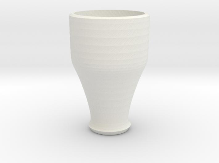 pink cap cup 4 3d printed