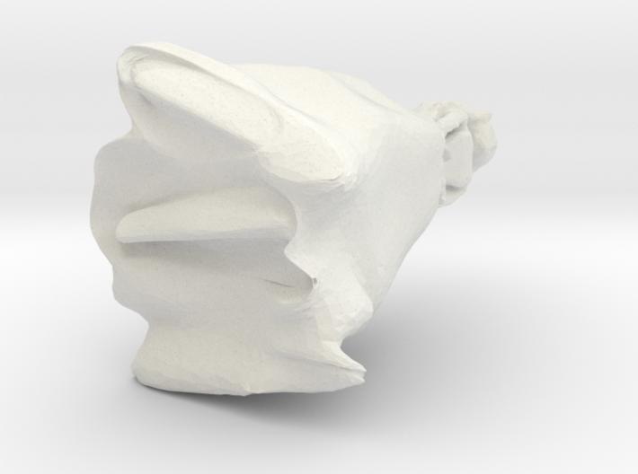 porcelánbaba 3d printed