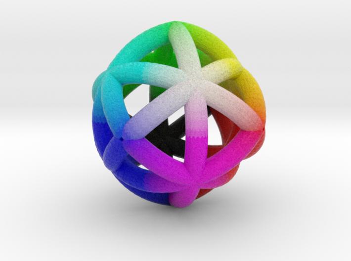 Rhombicage-r3-s12.5-o2-n12-dTrue 3d printed
