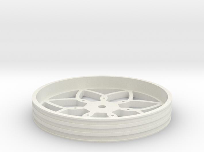 100mmFloppyBotWheel-01 3d printed