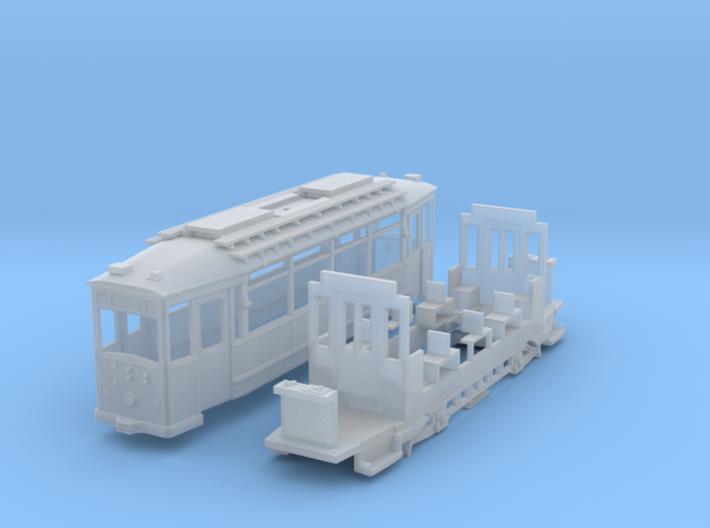 Triebwagen Thueringer Waldbahn 3d printed