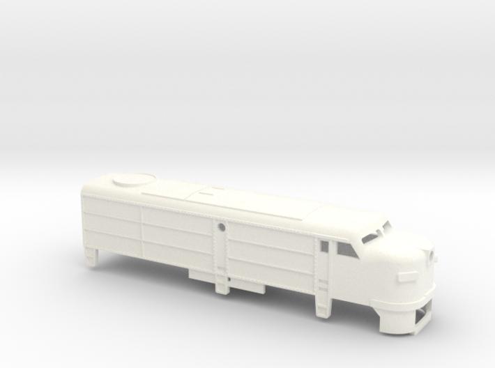 Z Scale Alco FA-1 Shell 3d printed
