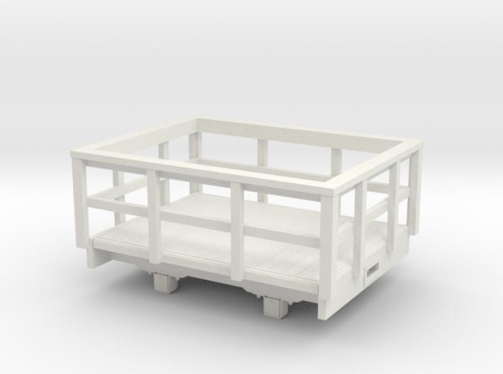1:32/1:35 Slate wagon 3d printed