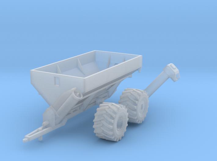 1:160 N Scale Kinze Grain Cart w/ Flotation Tires 3d printed