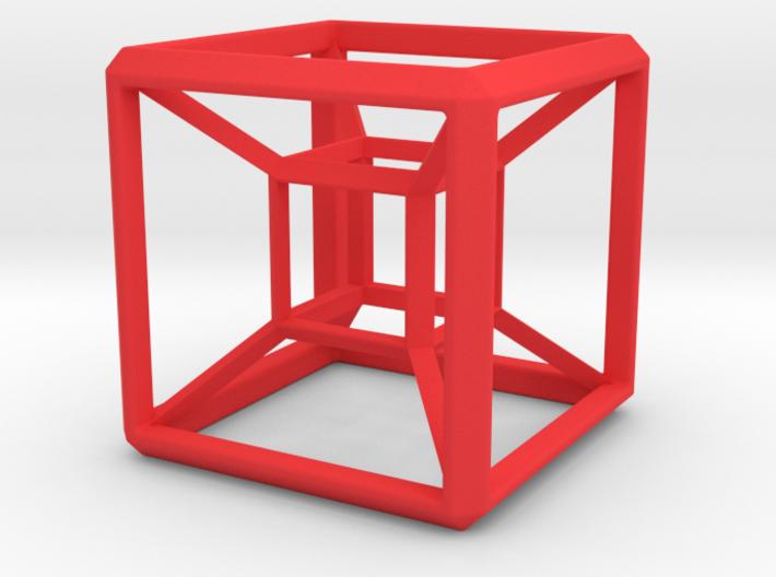 SCULPTURE: HyperCube Base for 48mm 3d-Cross 3d printed