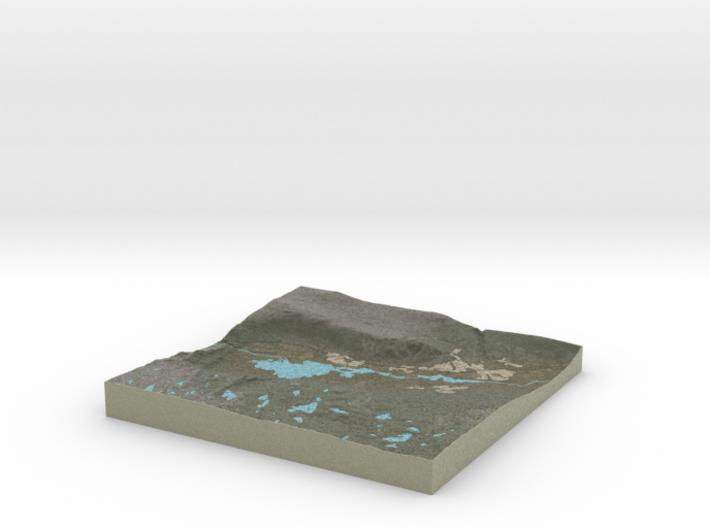 Terrafab generated model Mon Nov 11 2013 04:13:55 3d printed