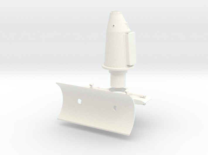 1:7 Scale Starboard Side Weapons Mount 3d printed
