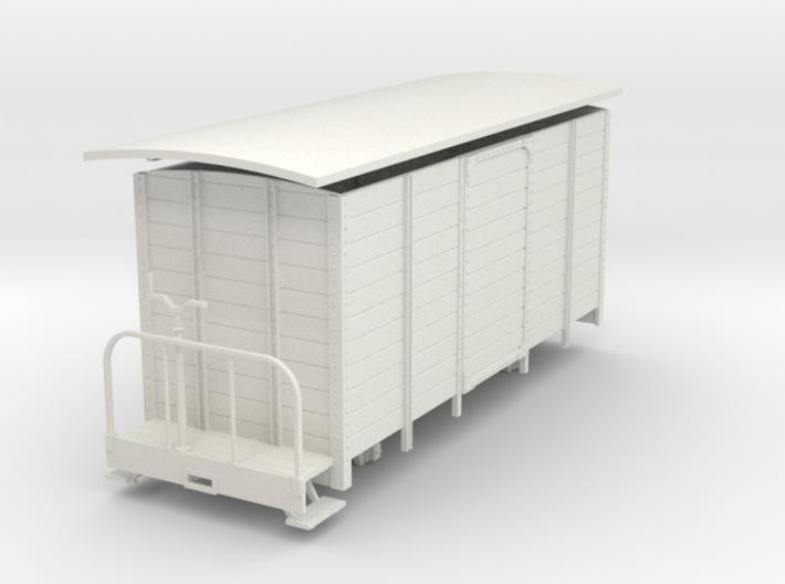 1:32/1:35 Long van with brake platform 3d printed