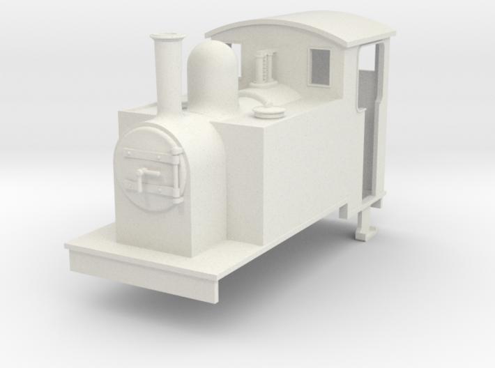 On16.5 side tank loco 1 3d printed