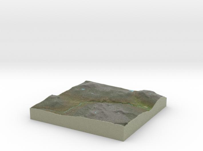 Terrafab generated model Mon Nov 11 2013 10:23:05 3d printed