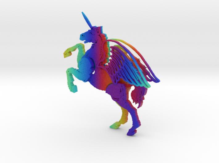Rainbow Unicorn Pegasus.zip 3d printed