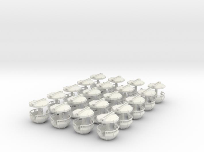 Gondeln für Faller140312 - 1:87 (H0 scale) 3d printed