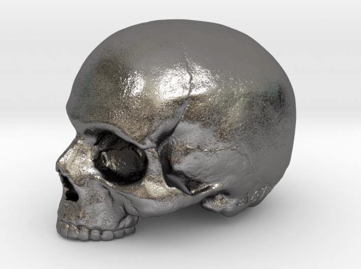 Yorick Skull with Latin Inscription 3d printed
