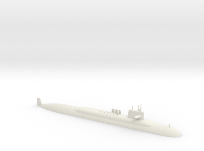 1/700 Lafayette Class Submarine (Waterline) 3d printed 1/700 Lafayette Class Submarine (Waterline)
