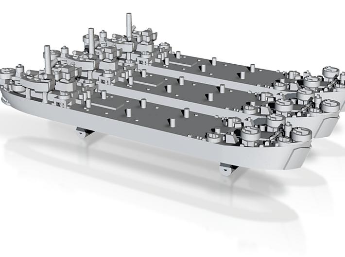 US LST Mk2 (x3) 3d printed