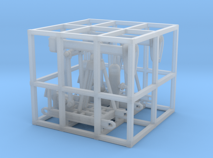 Oil Pumps Stations Two 3d printed