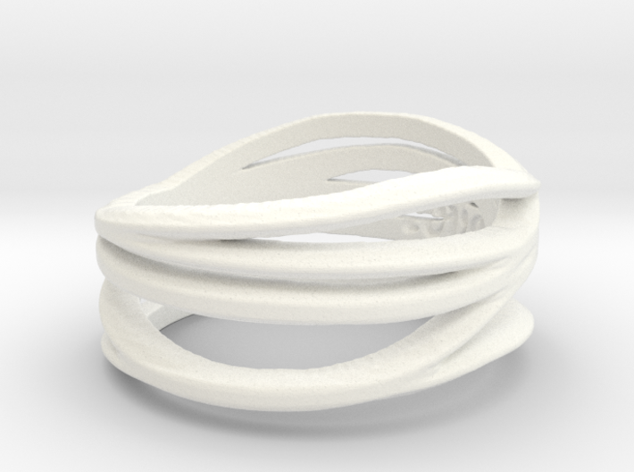 Love By Mary Gamby Ring Size 8 3d printed
