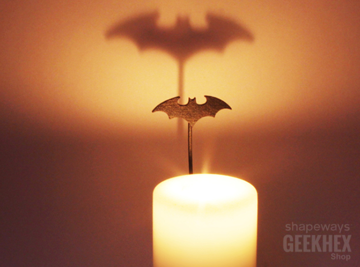 Batman 2003 - Spotlight Candle Attachment 3d printed