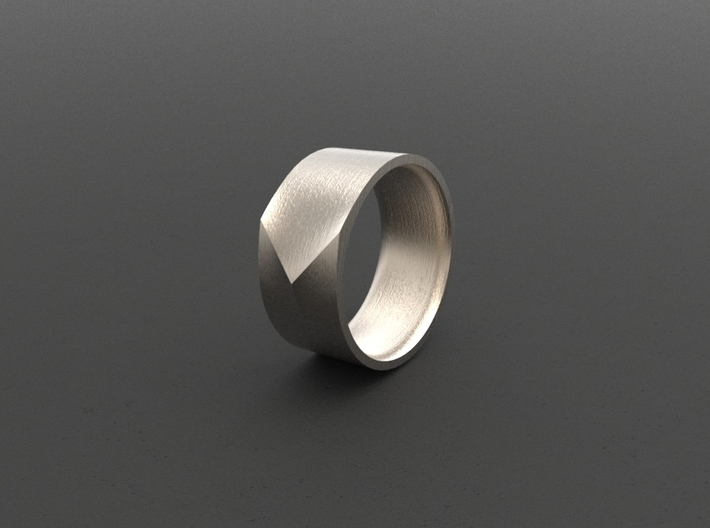 """ARROW""_Men ring 3d printed"