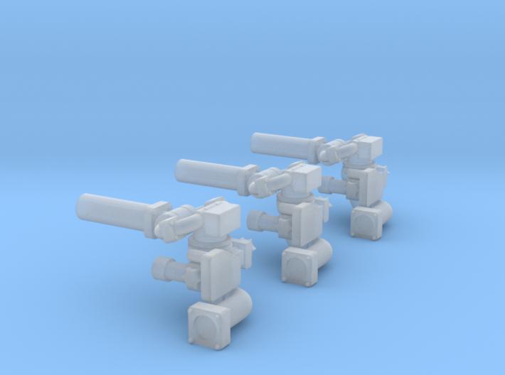 Frontwerfer-Ziegler 3Stück 3d printed