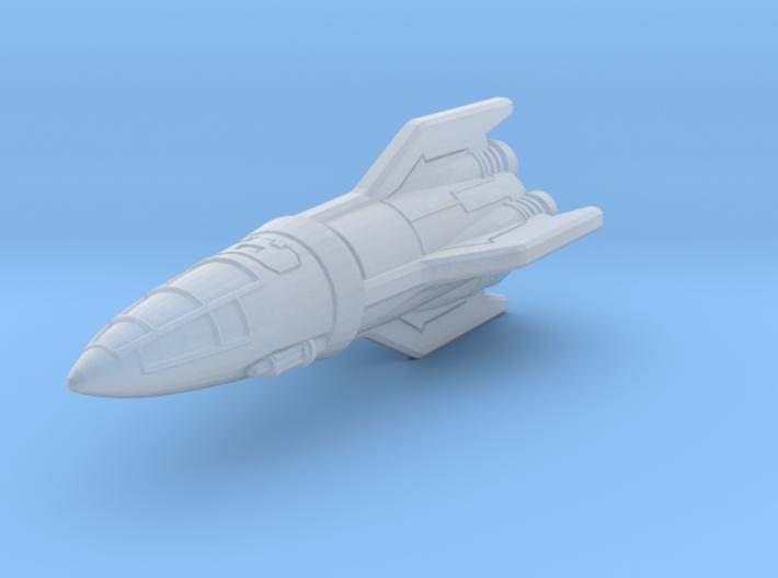 IPF Kestrel Fighter Rocket 3d printed