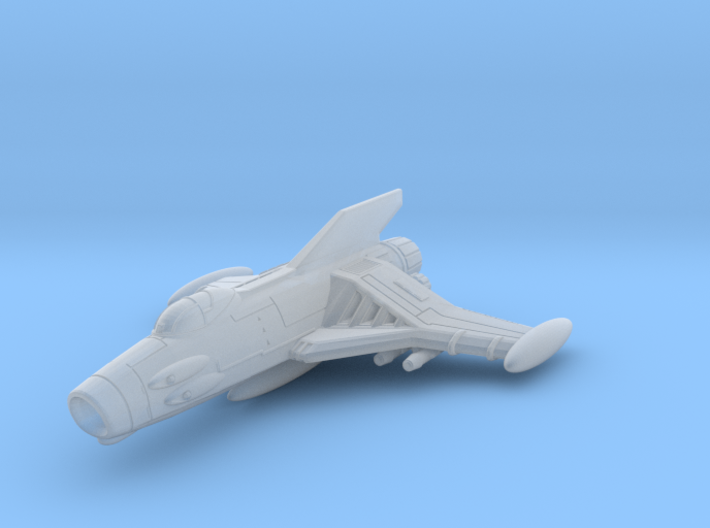 EDSF Cosmo Sabre Class Fighter 1/270 3d printed