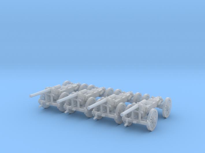 1/220 de Bange cannon 155mm - transported x4 3d printed