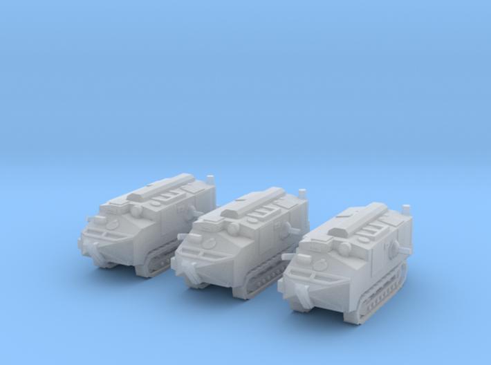 1/220 WW1 Schneider CA-1 tanks 3d printed