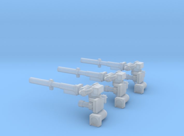 Frontpulverwerfer 3Stück 3d printed