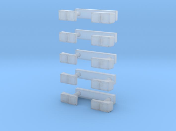 Heckleuchten 5Paar 3d printed