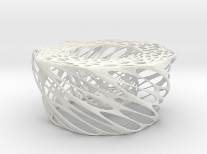 Twisted Candle 3d printed