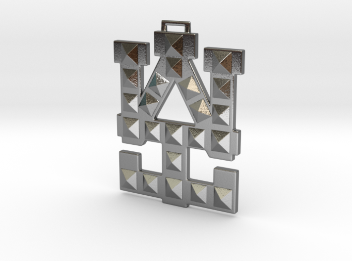 WAI Medallion 3d printed