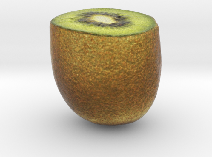 The  Kiwifruit-Half 3d printed