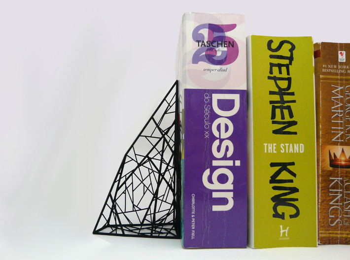 A.N. Book End 3d printed