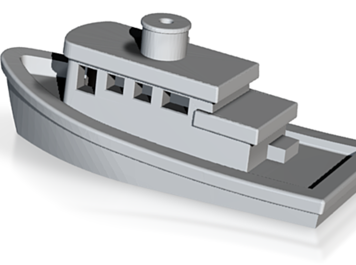 Tug Boat Monopoly Piece 3d printed