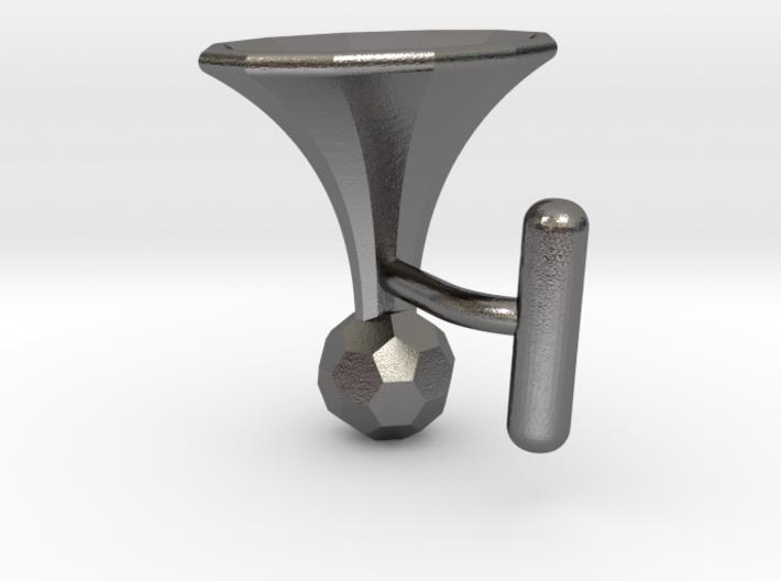 Onglehonk - left cufflink 3d printed