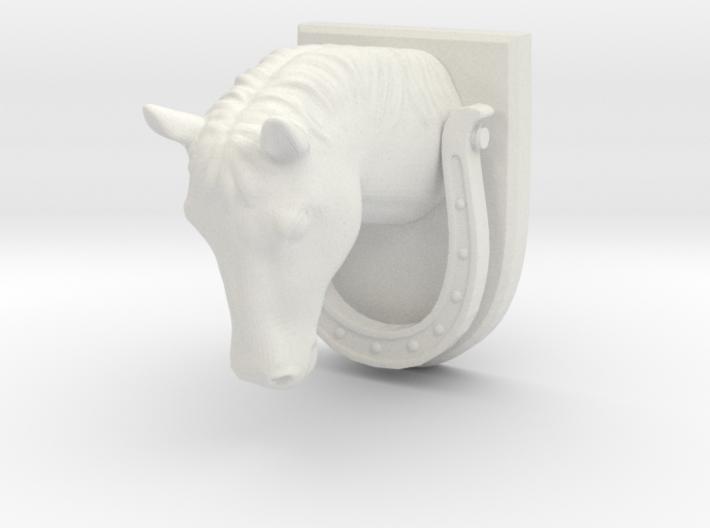 Horse Door Knocker 3d printed