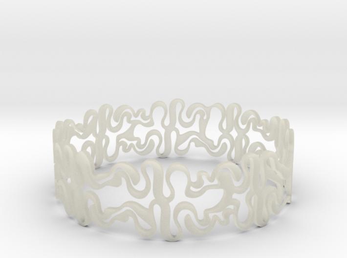 Swiggle Ring 3d printed