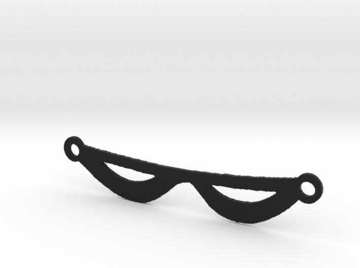 The Phantom's Eye Mask 3d printed
