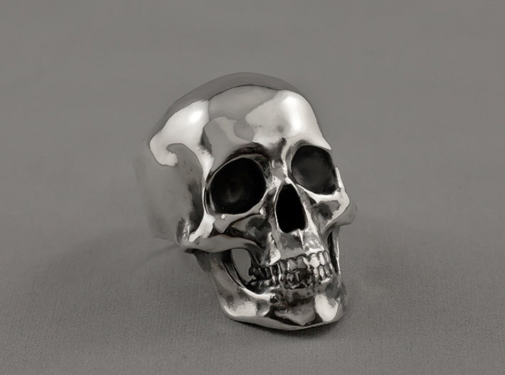 =Epic= Skull Ring - Size 13 3d printed
