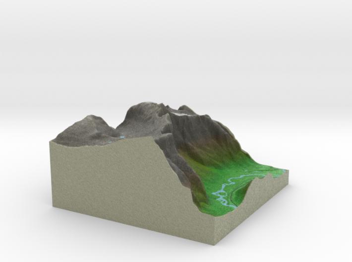 Terrafab generated model Mon Sep 01 2014 07:14:48 3d printed