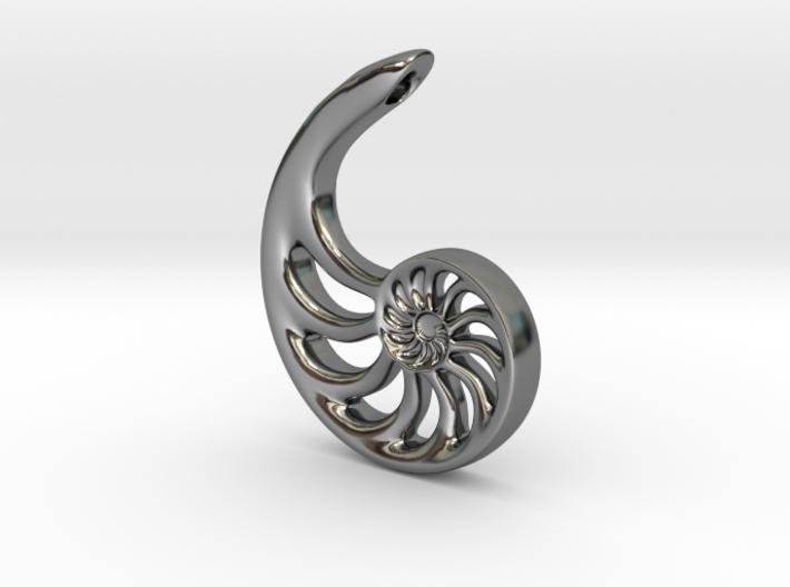 Nautilus Spiral: 4cm 3d printed